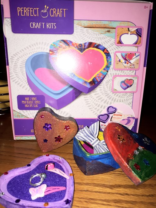 Perfect Craft Heart Box Keepsake Kit