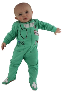 Doctor Footed Romper