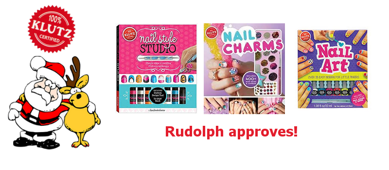 Nail Art Books and nail art kits from Klutz