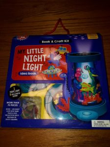 My little night light book craft