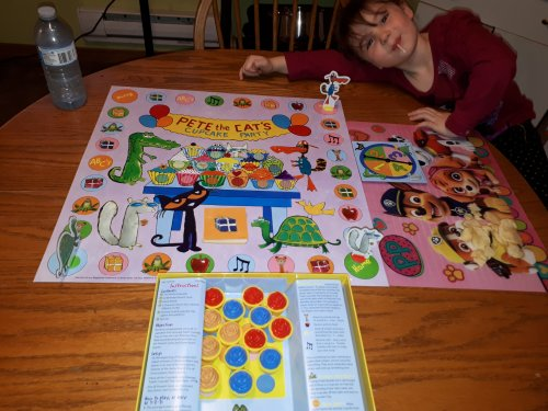 Pete the Cat and the Missing Cupcakes Game