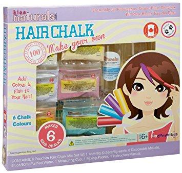 Kiss Naturals Hair Chalk Kit