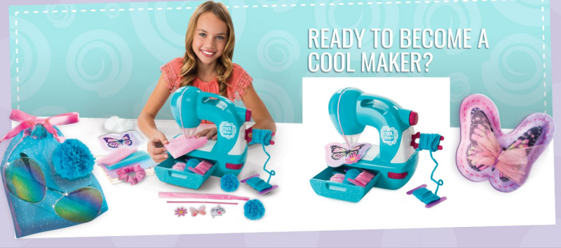 The Cool Maker Sew N' Style Machine