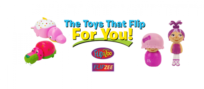 Flip Zee Girls Mini Collectibles