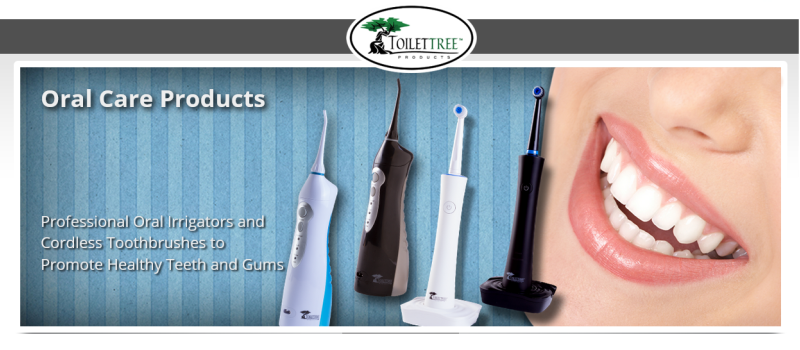 Portable Oral Irrigator- The Gift of Good Oral Health Giveaway