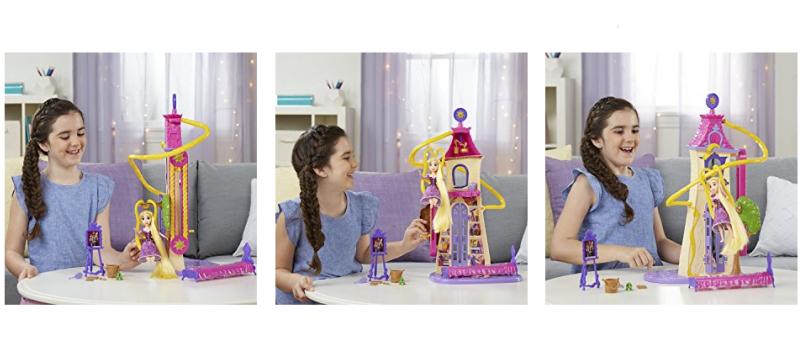 Disney Tangled the Series Swinging Locks Castle play set