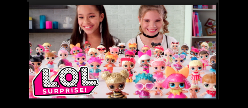 L.O.L. Surprise doll by MGA Entertainment.