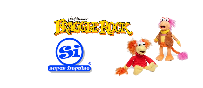 Fraggle Rock plush from Super Impulse