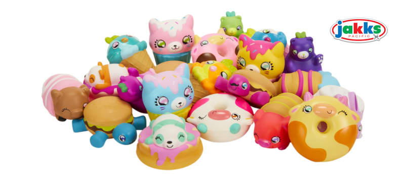 Squish-Dee-Lish Squishies by JAKKS Pacific