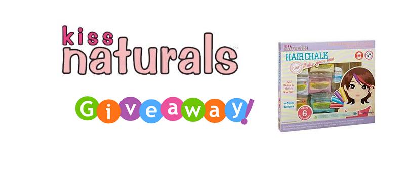 Kiss Naturals Hair Chalk Kit Giveaway