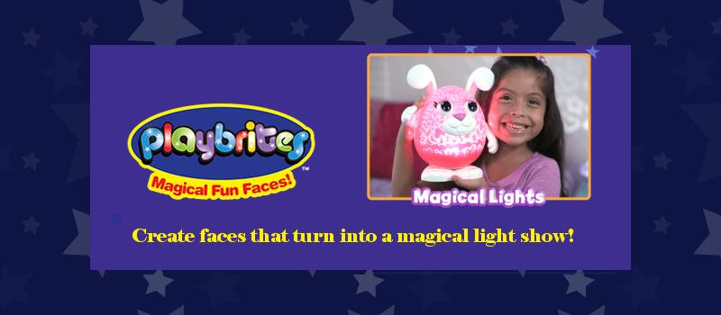 Playbrites Magical Fun Faces Nightlights