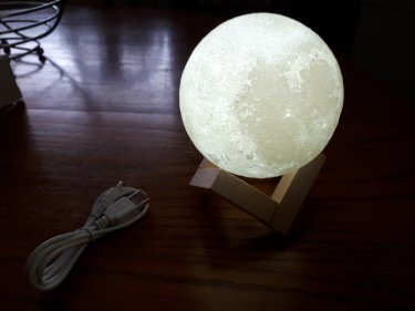 3D Moon USB Lamp