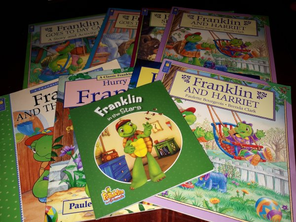 Franklin the Turtle books