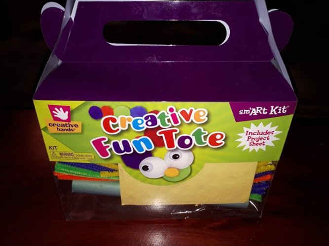 The Creative Hands Creative Fun Tote from Fibre-Craft