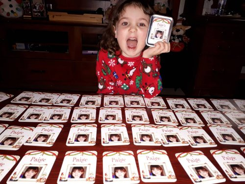 My Very Own Christmas 3-in-1 Personalized Matching Game