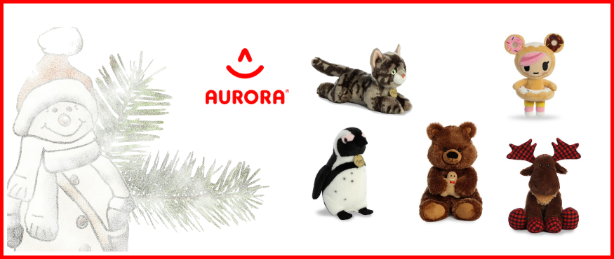Aurora Stuffed Animals and plush toys