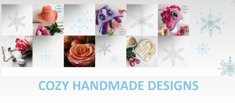 Cozy Handmade Designs – Handmade crochet knitwear