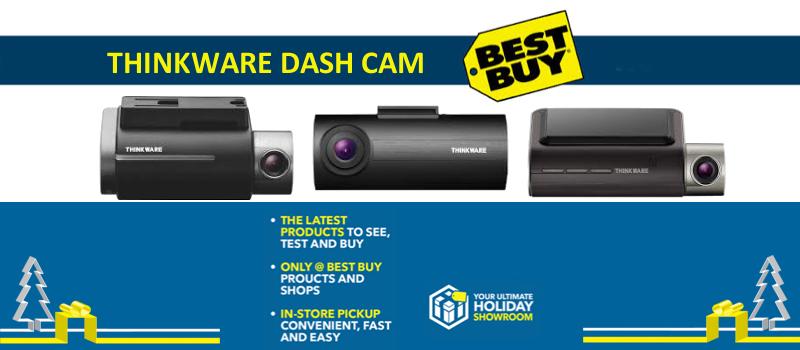 Thinkware F800 1080p Dash cam