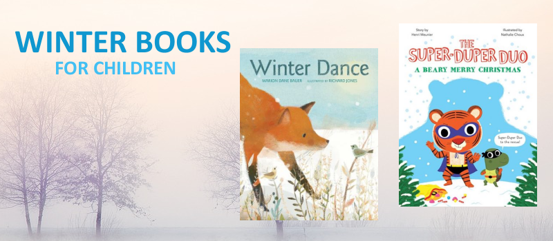 Winter themed books from Houghton Mifflin Harcourt Books