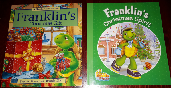Franklin the turtle Christmas books