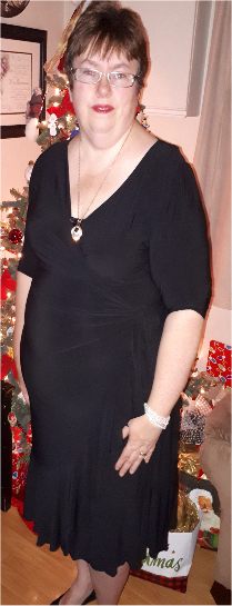 Sophisticated Curves Whimsy Wrap Dress