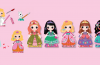 Princesses (Make it Now!) Press Out and Play
