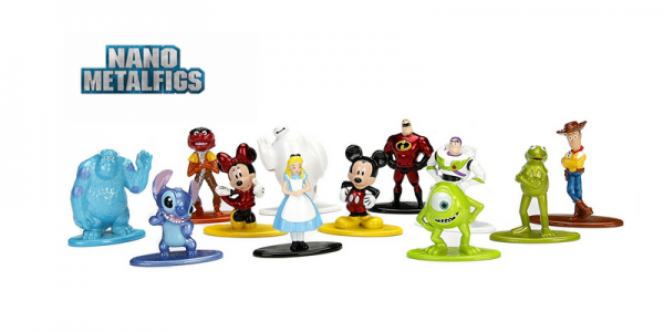 Nano Metalfigs Disney/Pixar