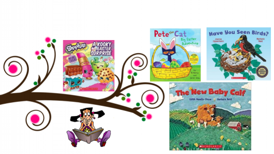 Children's Books about Easter and Spring
