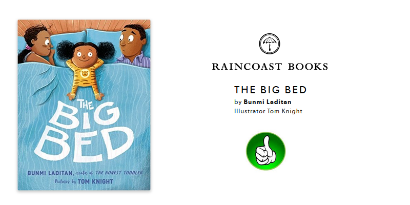 The Big Bed, Book by Bunmi Laditan