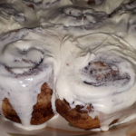 Cinnamon Rolls recipe using Bread Dough