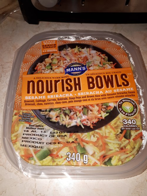 Mann's Nourish Bowls