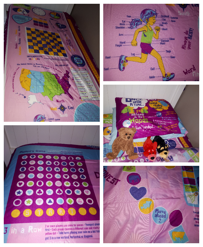 playtime bed sheets