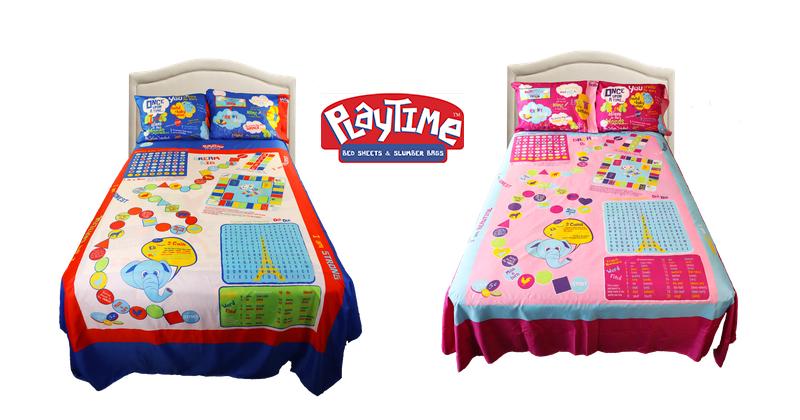 Playtime Bed Sheets-Playtime Edventures