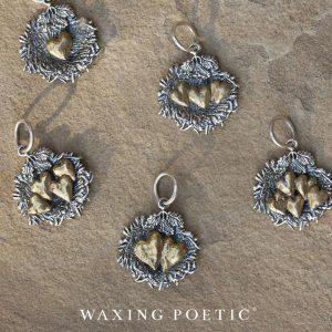 Waxing Poetic bird nest jewelry