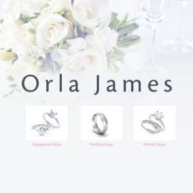 Orla James - perfect engagement and wedding rings
