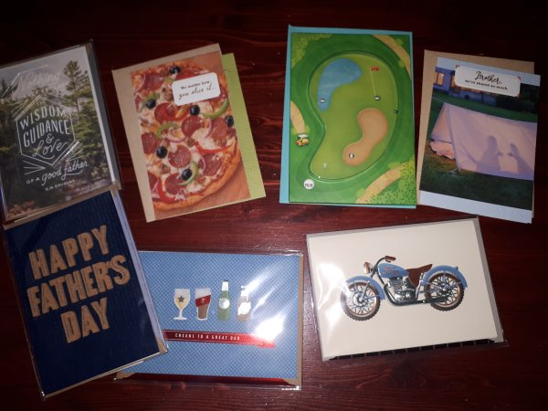 Hallmark Fathers Day cards