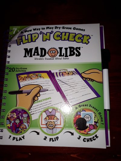 Flip N' Check Dry Erase Activity Game