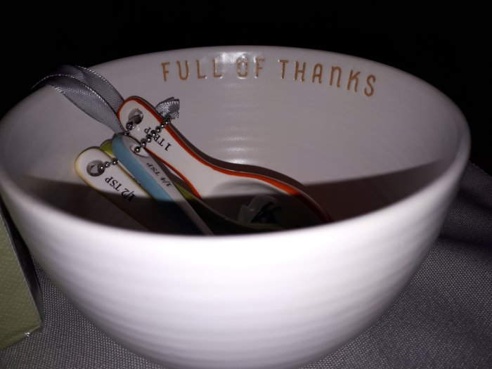 Bowl of thanks