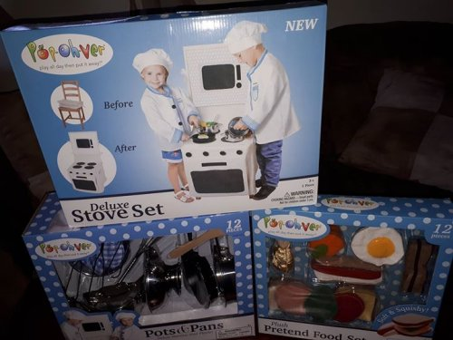 Popohver Kitchen Playset