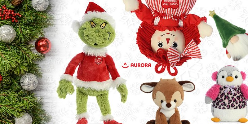 Aurora World Stuffed Toys- Timeless Gift