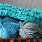 What is knitting yarn made from?