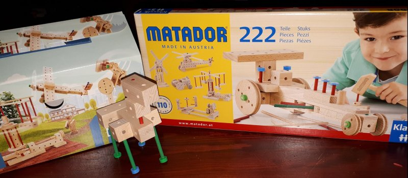 Matador wooden construction sets
