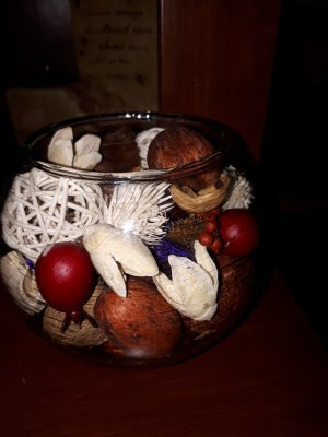 potpourri for Christmas gifts.