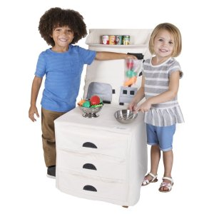 Pop-Oh-Ver Deluxe Stove and Counter Top Play Kitchen