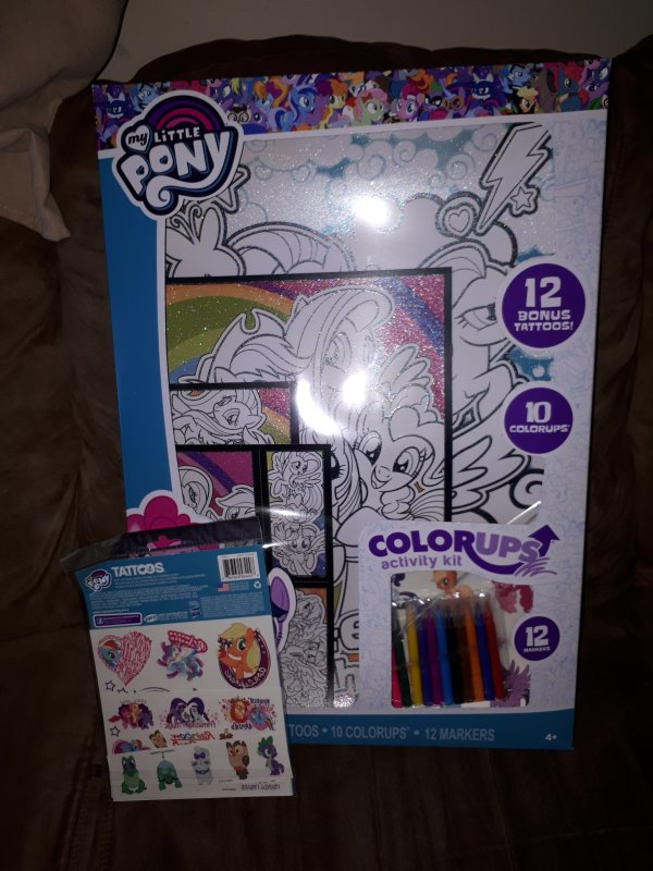 Savvi My Little Pony ColorUp Activity Kit