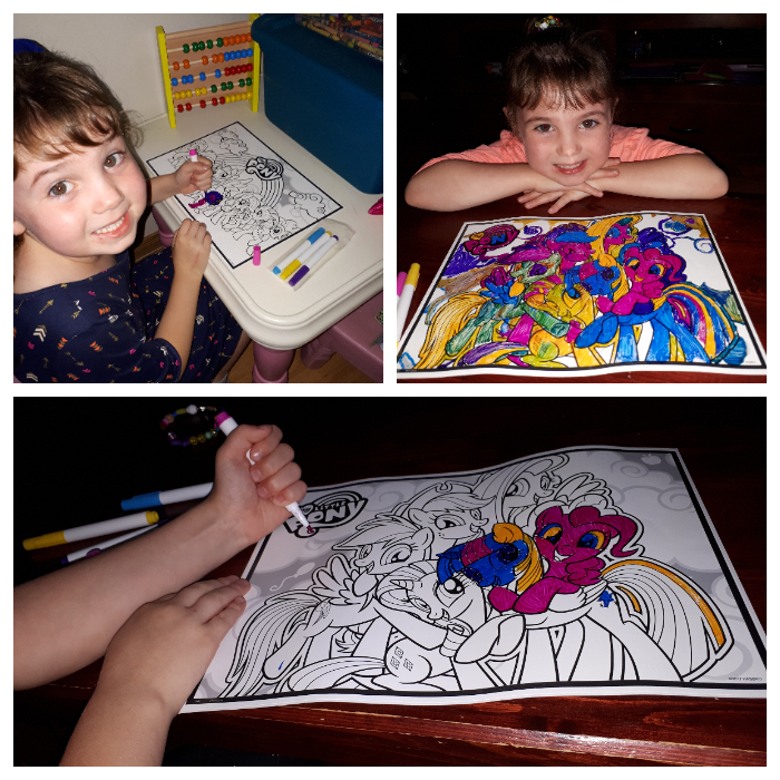 My Little Pony Coloring Cling