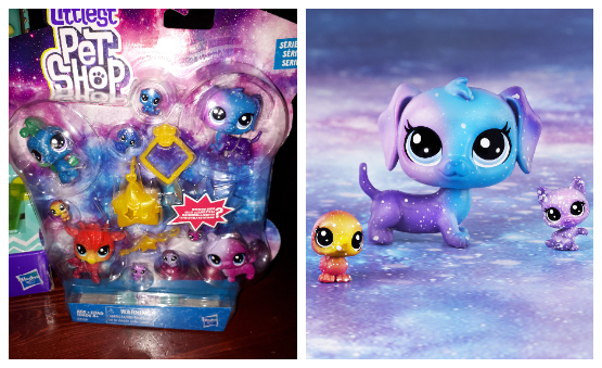 Littlest Pet Shop Series 3 Cosmic Pounce Collection