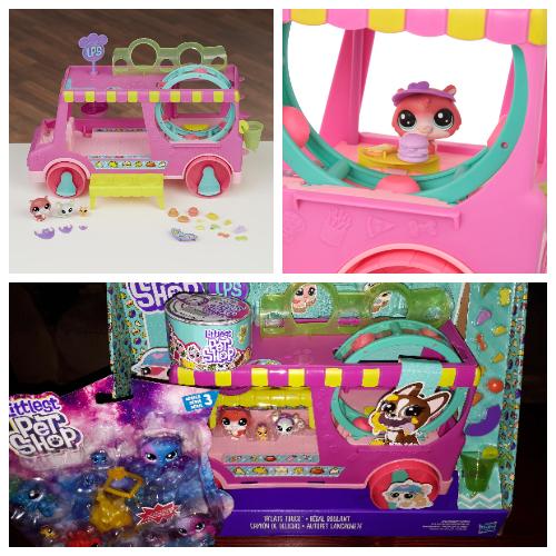 Littlest Pet Shop Tr'eats Truck Playset Toy