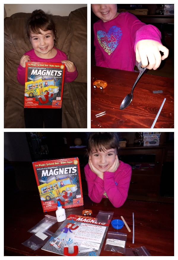 The Magic School Bus Attracted to Magnificent Magnets Set