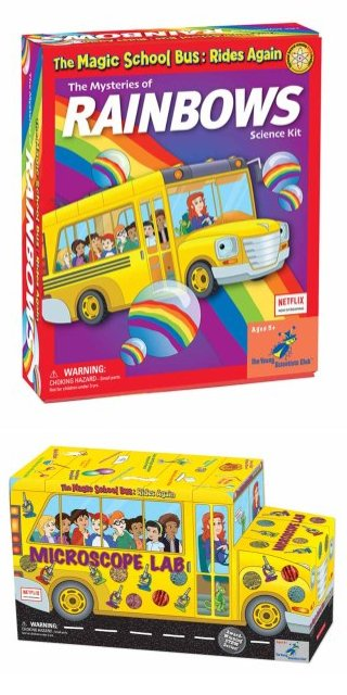 The Young Scientists Club Expands Magic School Bus Product Line
